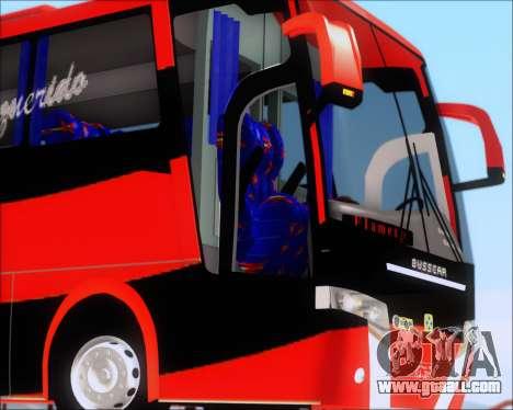Busscar Elegance 360 C.R.F Flamengo for GTA San Andreas upper view