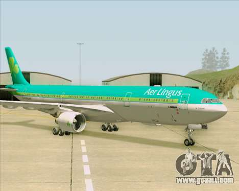 Airbus A330-300 Aer Lingus for GTA San Andreas side view