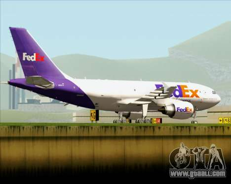 Airbus A310-300 Federal Express for GTA San Andreas side view