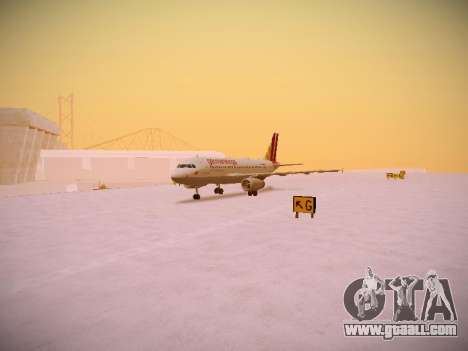 Airbus A319-132 Germanwings for GTA San Andreas left view