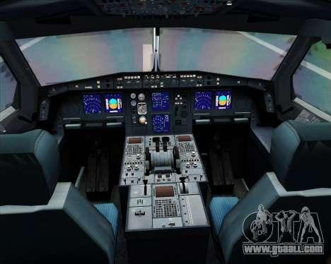 Airbus A340-313 Air Canada for GTA San Andreas interior