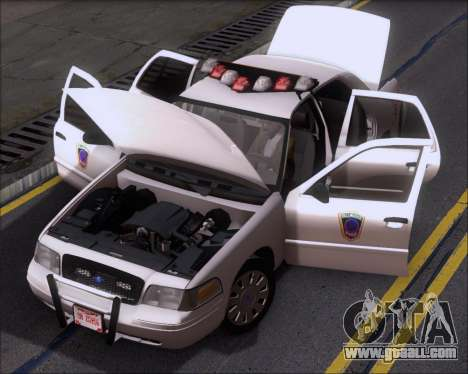 Ford Crown Victoria Tallmadge Battalion Chief 2 for GTA San Andreas side view