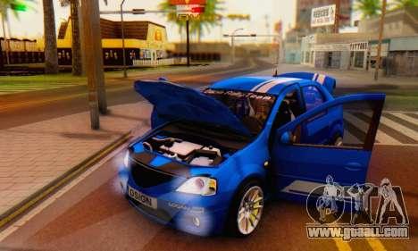 Dacia Logan Tuning Rally (B 48 CUP) for GTA San Andreas side view