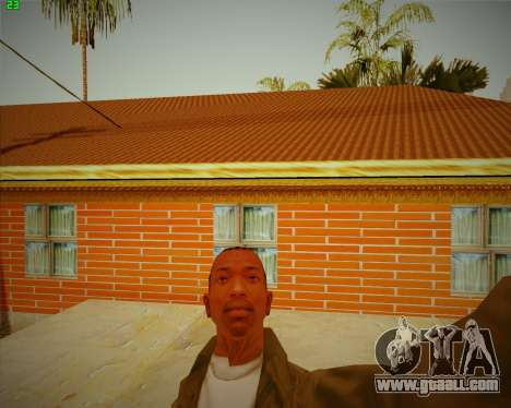 Updated house CJ for GTA San Andreas third screenshot