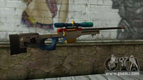 Sniper Rifle from PointBlank v4 for GTA San Andreas second screenshot