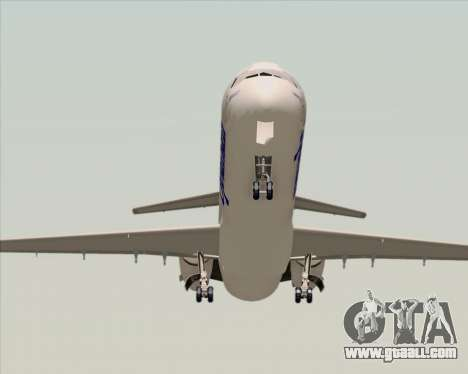 McDonnell Douglas MD-82 Spanair for GTA San Andreas back view