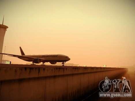 Boeing 777-212ER Transaero Airlines for GTA San Andreas inner view