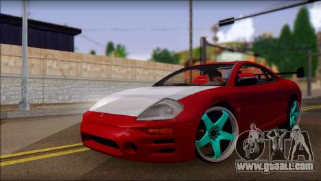 Mitsubishi Eclipse GTS Tuning for GTA San Andreas