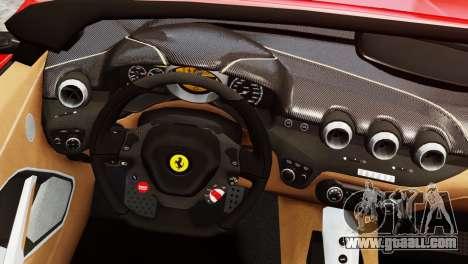 Ferrari F12 Roadster for GTA 4 back left view