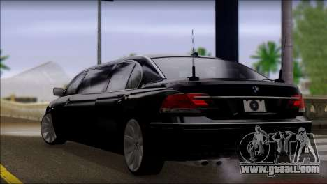 BMW E66 7-Series Limousine for GTA San Andreas left view