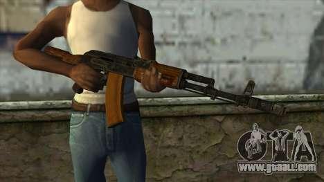 TheCrazyGamer AK74 for GTA San Andreas third screenshot