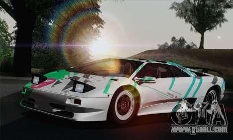 Lamborghini Diablo SV 1995 (HQLM) for GTA San Andreas