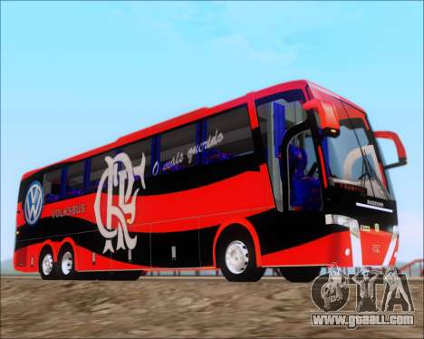 Busscar Elegance 360 C.R.F Flamengo for GTA San Andreas inner view