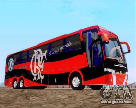 Busscar Elegance 360 C.R.F Flamengo for GTA San Andreas inner view
