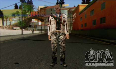 Arctic Avenger (Tactical Intervention) v2 for GTA San Andreas