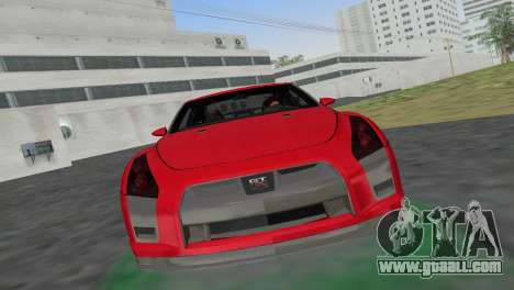 Nissan GT-R Prototype for GTA Vice City back left view