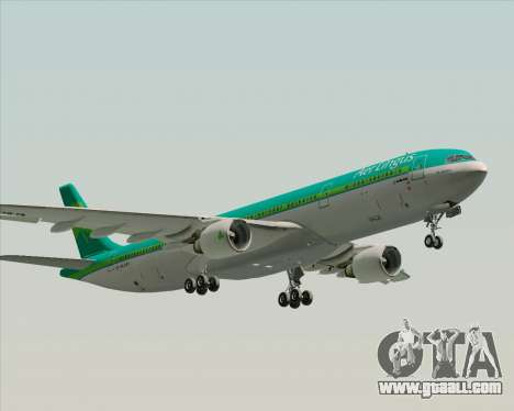 Airbus A330-300 Aer Lingus for GTA San Andreas engine