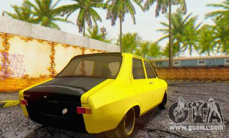 Dacia 1300 Old School for GTA San Andreas back left view
