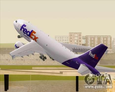 Airbus A310-300 Federal Express for GTA San Andreas