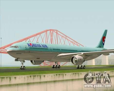 Airbus A330-300 Korean Air for GTA San Andreas left view