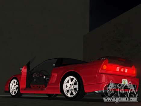 Honda NSX-R for GTA Vice City upper view
