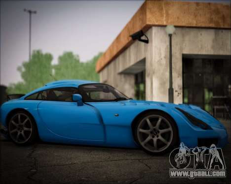 TVR Sagaris 2005 for GTA San Andreas right view