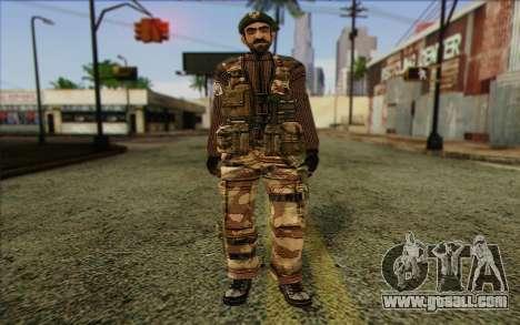 Soldiers MEK (Battlefield 2) Skin 5 for GTA San Andreas