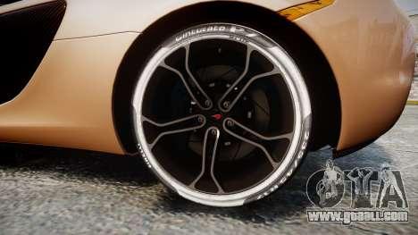 McLaren 650S Spider 2014 [EPM] Pirelli v1 for GTA 4 back view