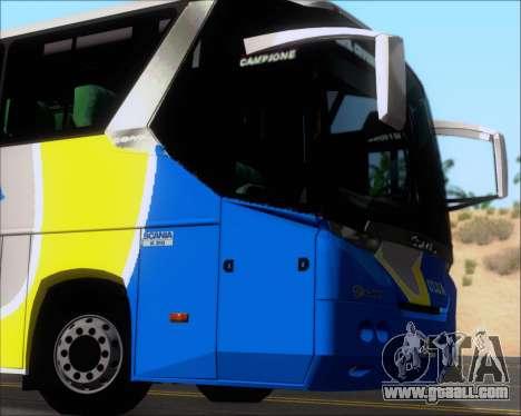 Comil Campione Ulua Scania K420 for GTA San Andreas side view
