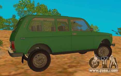 VAZ-2129 Niva 4x4 for GTA San Andreas left view
