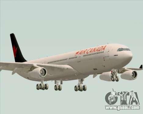 Airbus A340-313 Air Canada for GTA San Andreas
