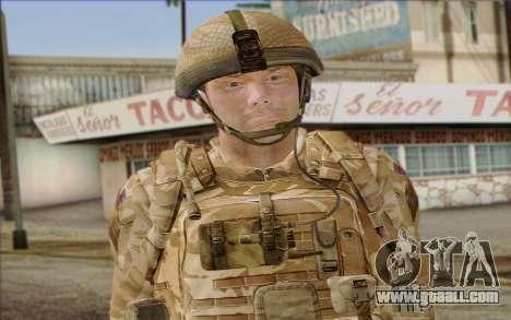 British soldiers (ArmA II: BAF) v2 for GTA San Andreas third screenshot