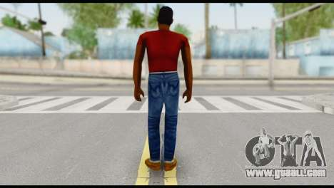Lance no Glasses Casual for GTA San Andreas second screenshot