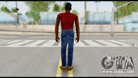 Lance no Glasses Casual for GTA San Andreas second screenshot