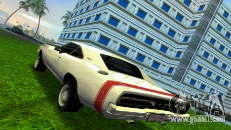 Dodge Charger 1967 for GTA Vice City right view