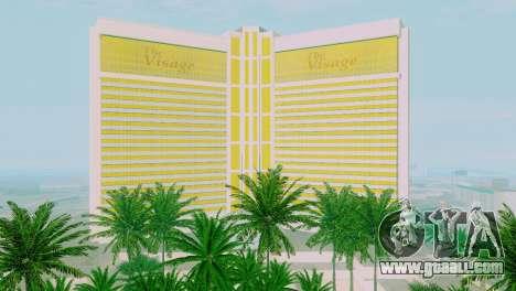 New textures casino Visage in Las Venturas for GTA San Andreas seventh screenshot