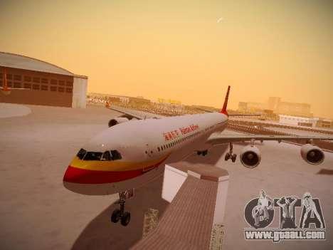 Airbus A340-600 Hainan Airlines for GTA San Andreas