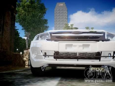 Lada Granta Liftback for GTA 4 inner view