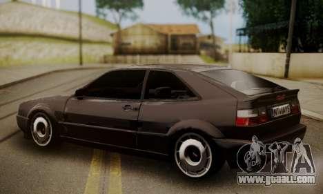 Volkswagen Corrado for GTA San Andreas left view