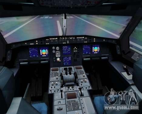 Airbus A330-300 Korean Air for GTA San Andreas interior