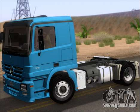 Mercedes-Benz Actros 3241 for GTA San Andreas back view