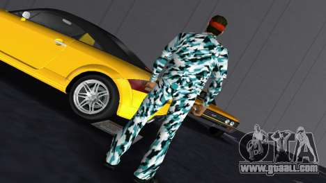 Camo Skin 10 for GTA Vice City second screenshot