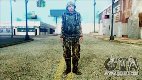 Soldier SA (WIC) for GTA San Andreas