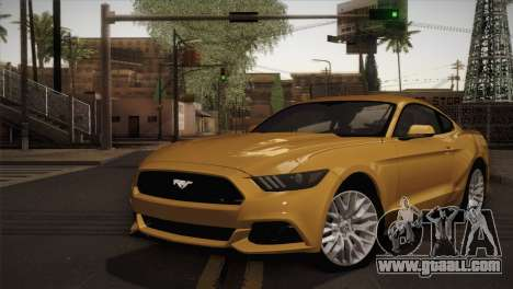 Ford Mustang GT 2015 for GTA San Andreas
