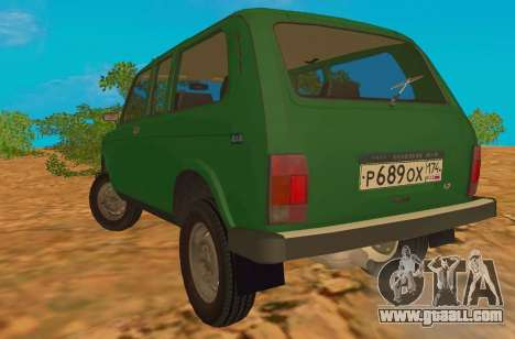 VAZ-2129 Niva 4x4 for GTA San Andreas back left view
