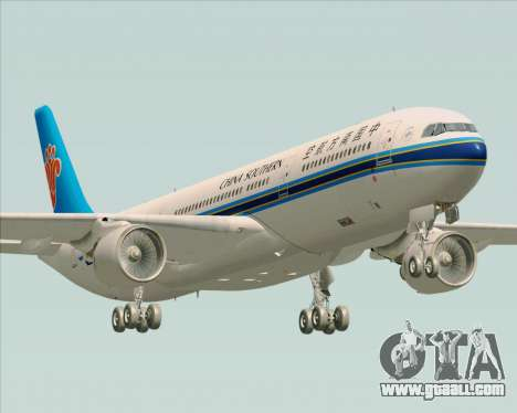 Airbus A330-300 China Southern Airlines for GTA San Andreas