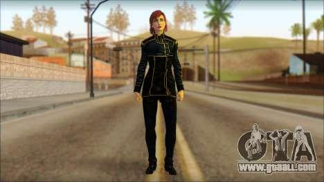 Mass Effect Anna Skin v1 for GTA San Andreas