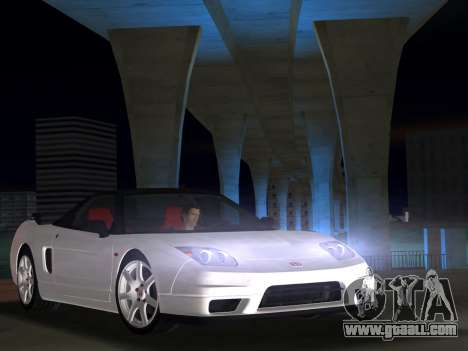 Honda NSX-R for GTA Vice City right view