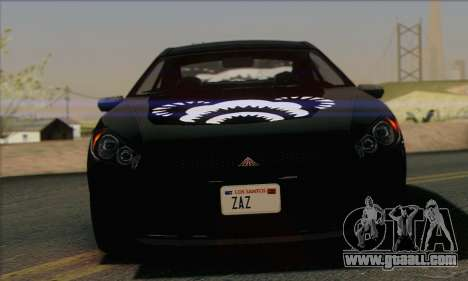Maibatsu Penumbra 1.0 (IVF) for GTA San Andreas engine