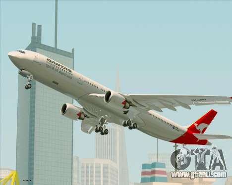 Airbus A330-300 Qantas for GTA San Andreas engine